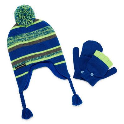 Weatherproof Hat & Glove Set - Boys 4-20