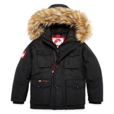 Canada Weather Gear Vestee Parka - Boys Preschool 4-7
