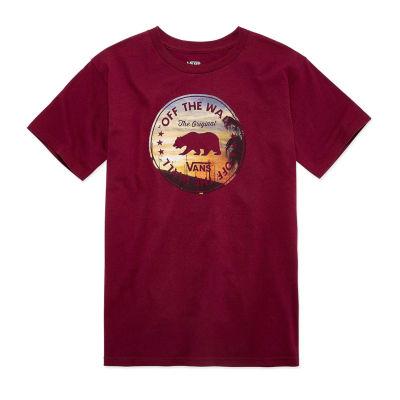 Vans Graphic T-Shirt-Big Kid Boys