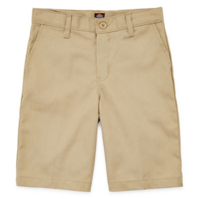 Dickies Boys Mid Rise Stretch Adjustable Waist Chino Short Big Kid