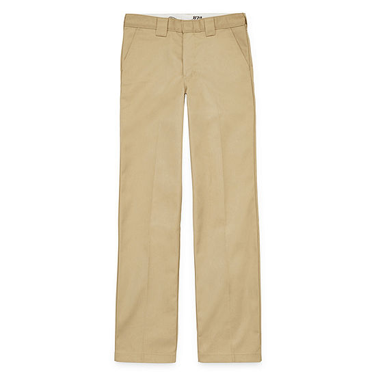 Dickies-Big Boys Straight Flat Front Pant