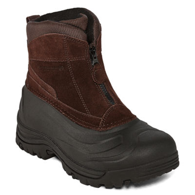 Weatherproof Mens Tahoe Iii Water Resistant Insulated Winter Boots Zip