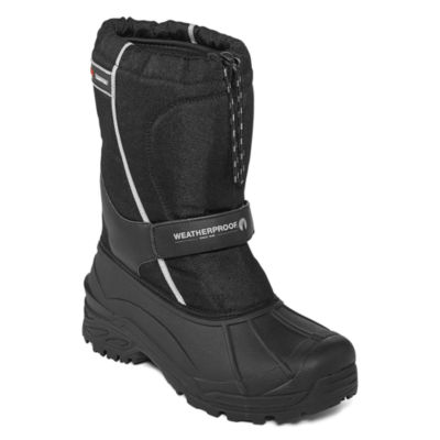 Weatherproof Snowbird Mens Water Resistant Insulated Winter Boots