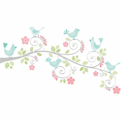 Brewster Wall Pretty Tweet Wall Art Kit Wall Decal