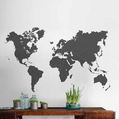 Brewster Wall The World Is Yours Wall Decal