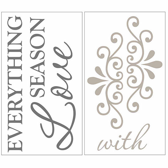 Brewster Wall Season Everything Wall Quote Wall Decal