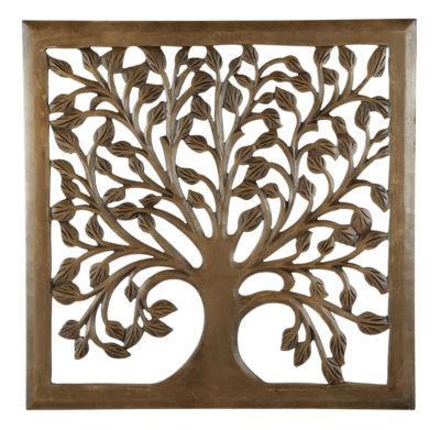 Beau St. Croix Trading Solaris Nine Tree Of Life Wall Art