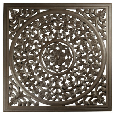 St. Croix Trading Solaris Seven Wooden Wall Panel