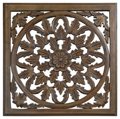 St. Croix Trading Solaris Six Wooden Wall Panel