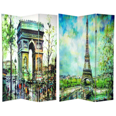 Oriental Furniture 6' Paris Room Divider