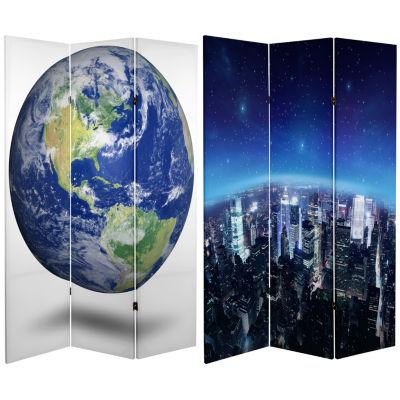Oriental Furniture 6' Earth Room Divider Room Divider