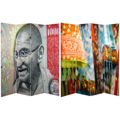 Oriental Furniture 6' Gandhi Room Divider