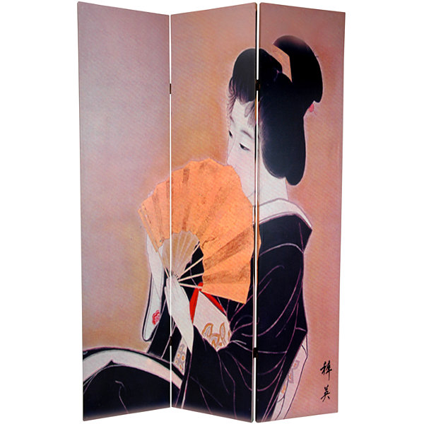 Oriental Furniture 6' Geisha Room Divider