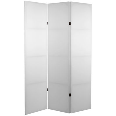 Oriental Furniture 6' Do It Yourself 3 Panel RoomDivider