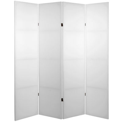 Oriental Furniture 6' Do It Yourself 4 Panel RoomDivider