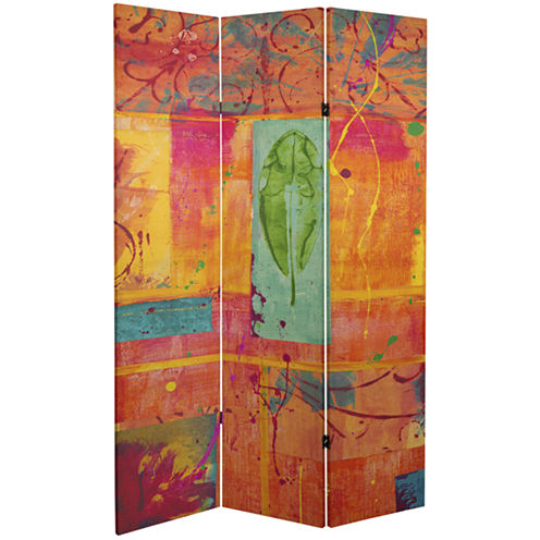 Oriental Furniture 6' Dream Canvas Room Divider