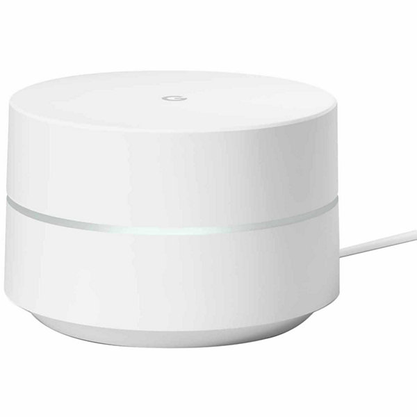 Google WiFi - 1 Pack Wireless Router Replacement for Whole-Home Coverage