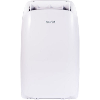 Honeywell HL Series 10000 BTU Portable Air Conditioner with Remote Control in White/White