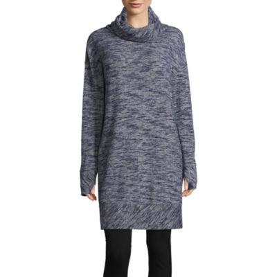 St. John's Bay Active Cowl Neck Tunic/Dress