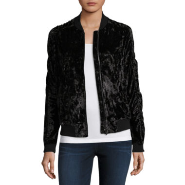 Project Runway Velvet Bomber Jacket
