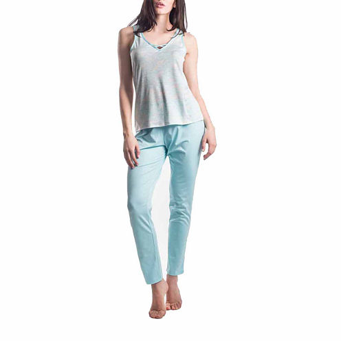 Maidenform 2-pc. Waves Pant Pajama Set