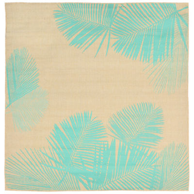 Liora Manne Terrace Palm Square Rugs