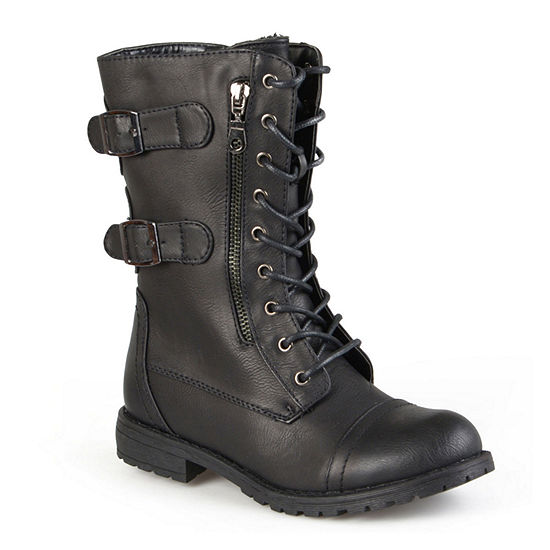 Journee Collection Womens Cedes Lace-Up Boots