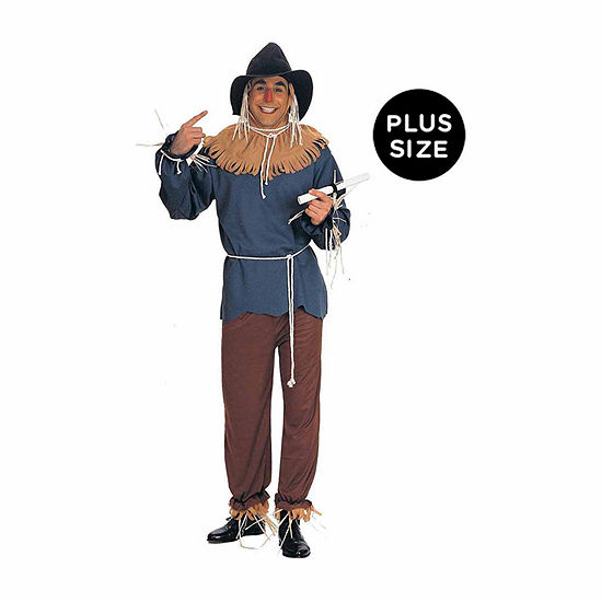 The Wizard of Oz Scarecrow Adult Plus Costume - Plus Size