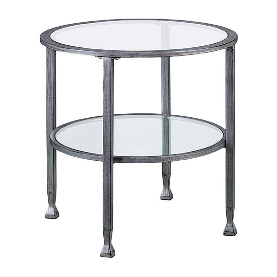 Brana Round End Table