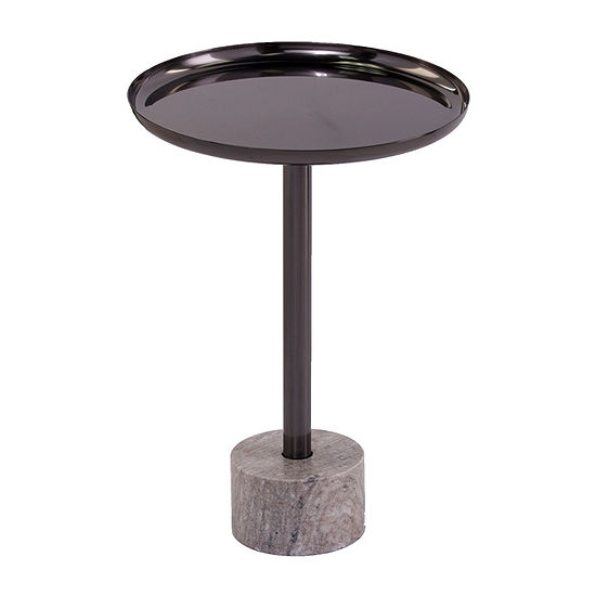 Knares Marble-Base Accent Table