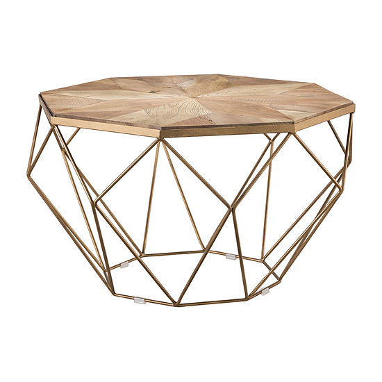 Cacar Reclaimed Wood Coffee Table