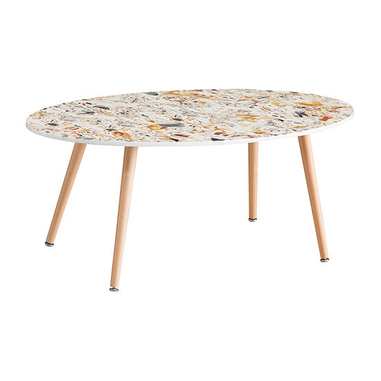 Kyad Faux Geode Coffee Table