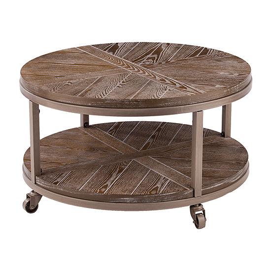 Kyanix Urban Round Coffee Table