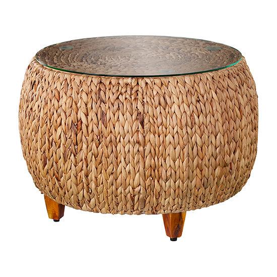 Liana Water Hyacinth Coffee Table