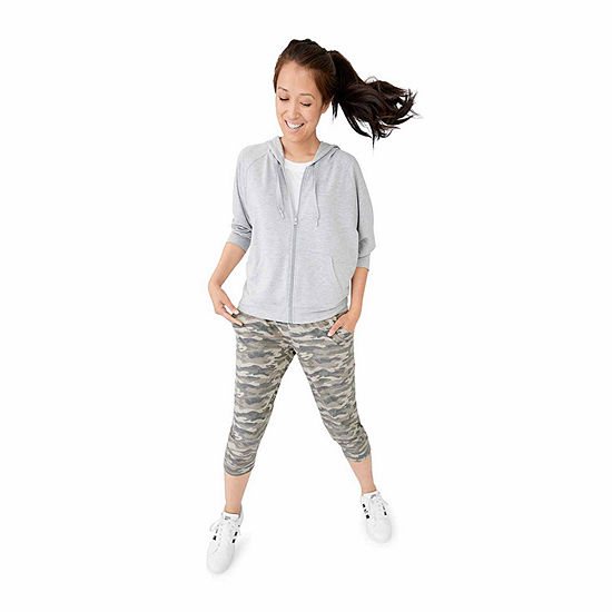 Shop The Look Active Lounge Hoodie Capri Jogger