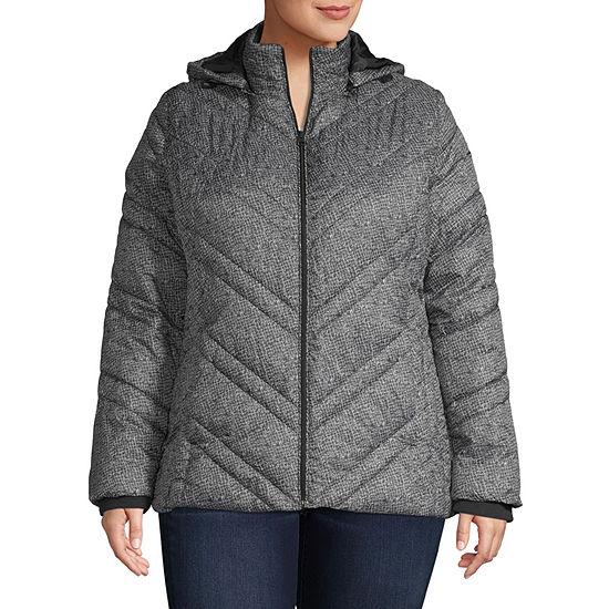 Xersion Lightweight Puffer Jacket-Plus