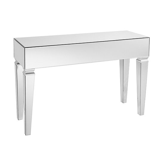 Auzil Mirrored Console Table