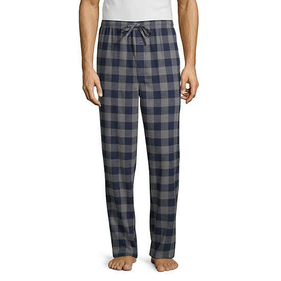 Stafford Mens Flannel Pajama Pants - Extra Tall