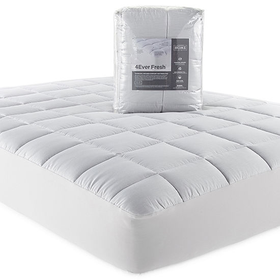 JCPenney Home 4Ever Fresh Charcoal Infused Mattress Pad