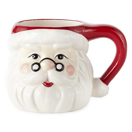 North Pole Trading Co. Santa Coffee Mug