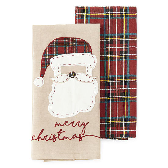 North Pole Trading Co. Santa 2-pc. Kitchen Towel