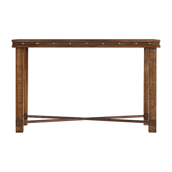 Bebourg Rustic Console Table