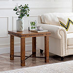 Bebourg Rustic End Table