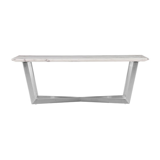 Bourwin Faux Marble Coffee Table