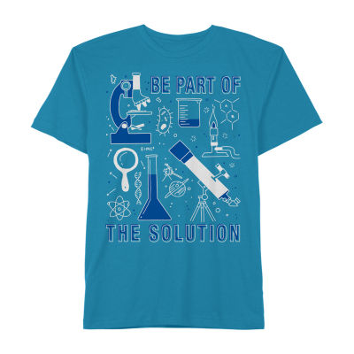 Little & Big Boys Crew Neck Short Sleeve Graphic T-Shirt