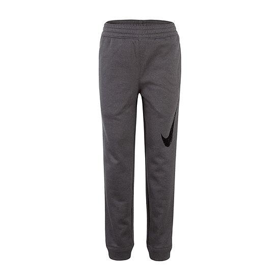 Nike Performance Fleece Little Boys Cinched Pull-On Pants