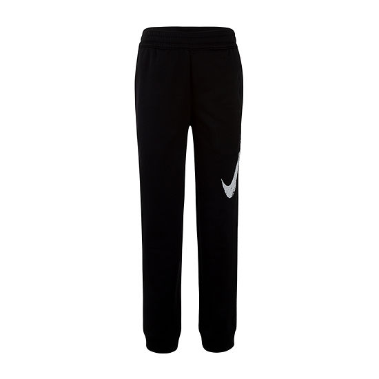 Nike Performance Fleece Little Boys Cuffed Pull-On Pants