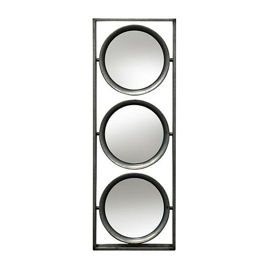 Stylecraft Rectangular Galvanized Metal Wall Mirror