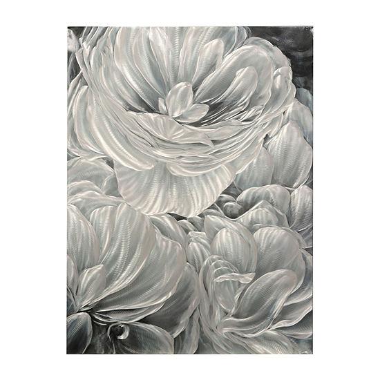 Stylecraft Gray Aluminum Panel Canvas Art
