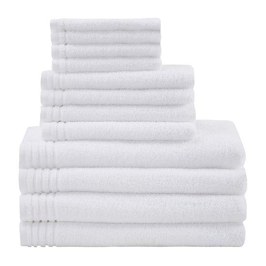 510 Design Big Bundle 12-pc. Quick Dry Solid Bath Towel Set